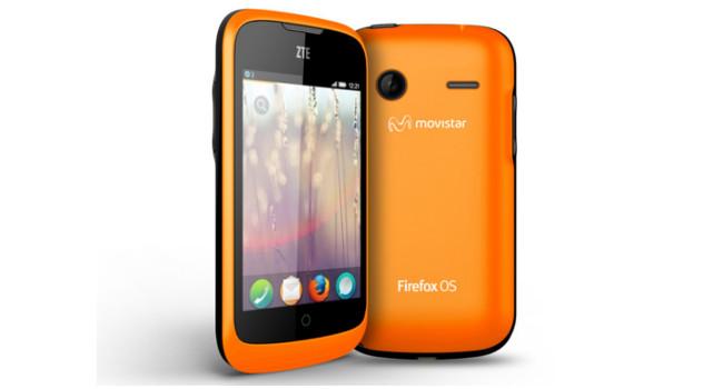 Firefox OS ZTE phone